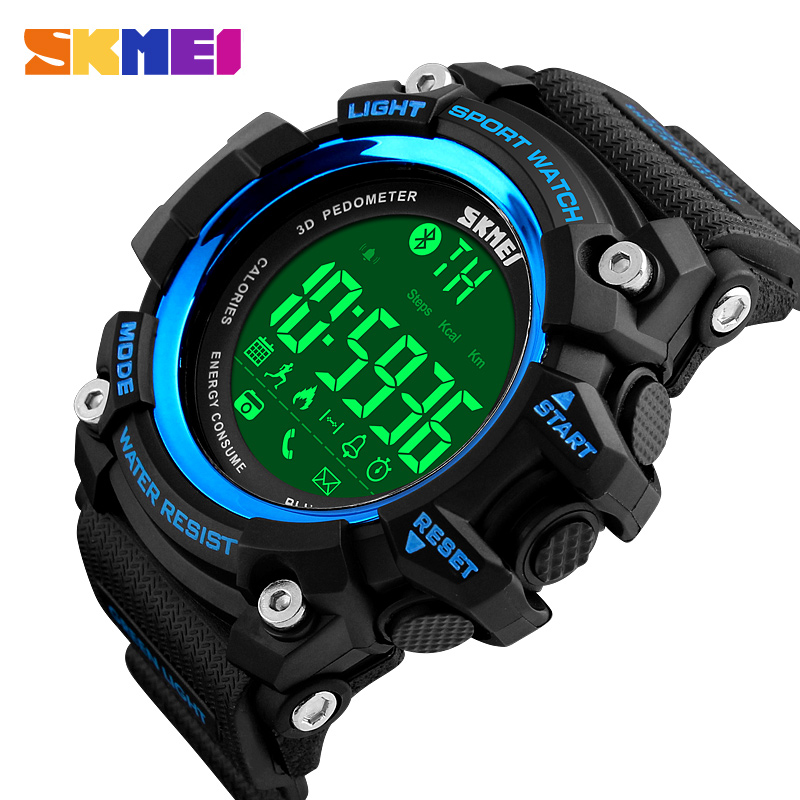 SKMEI Waterproof Men Watches Luxury Brand Fashion Military Digital Outdoor Sports Watch LED Electronic Clock Relogio Masculino