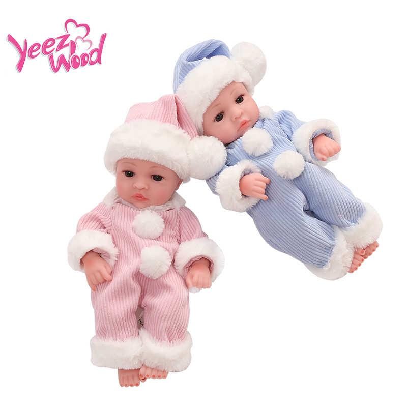10 אינץ Bebe Reborn בובת כל גוף רך סיליקון בובות תינוק בובת מציאותי בובת אמיתי מגע ילדים למשחק מתנה עבור ילדים