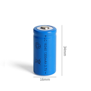 Image 3 - 1300mAh 3.7V Li ion Rechargeable 16340 Batteries CR123A Battery For LED Flashlight Travel Wall Charger For 16340 CR123A Battery
