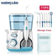 Waterpulse V300G Oral Irrigator 7pcs Tips Dental Water Flosser Water Floss 800ml Oral Hygiene Dental Flosser Water Flossing V300 цена в Москве и Питере