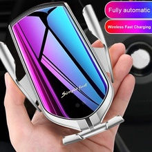 Wireless Car Charger For Samsung S10e S10 S9 S8 Plus Note 10 + 9 8 Simplefast Automatic Sensor Phone Holder Wirless Charger Fast