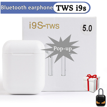 Wireless Bluetooth Earphones i9s  i7S Sport True Earbuds With Accessories Dust Guard For i7s i30 i12 i200 TWS