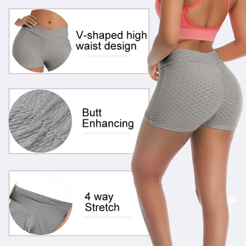 Women Summer Sports Shorts Casual Skinny Soft Elastic Stretchy Solid Shorts Workout Leggings Yoga Pants 6