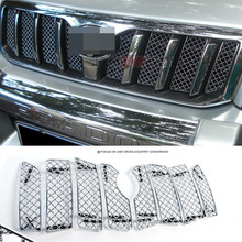 Voor Toyota Land Cruiser Prado LC120 2003 2004 2005 2006 2007 2008 2009 Accessoires Auto Staal Insect Screening Mesh Front grille