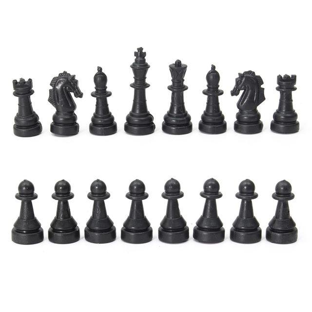 3 en 1 jeu d'échecs en plein air voyage échecs Backgammon pour développement intellectuel 4