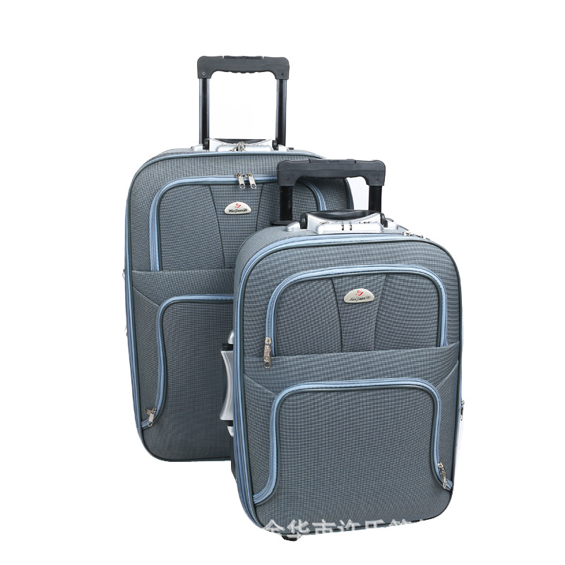 High Quality Light Luggage Mute One-way Wheel Travel Trolley Business Trip Travel Boarding Bag Waterproof Wearable Password Suit