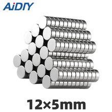 AI DIY 10/30/50 pcs 12x5mm permanent super strong powerful neodymium magnet N35 Round Rare Earth Magnetic magnets Disc 12*5mm