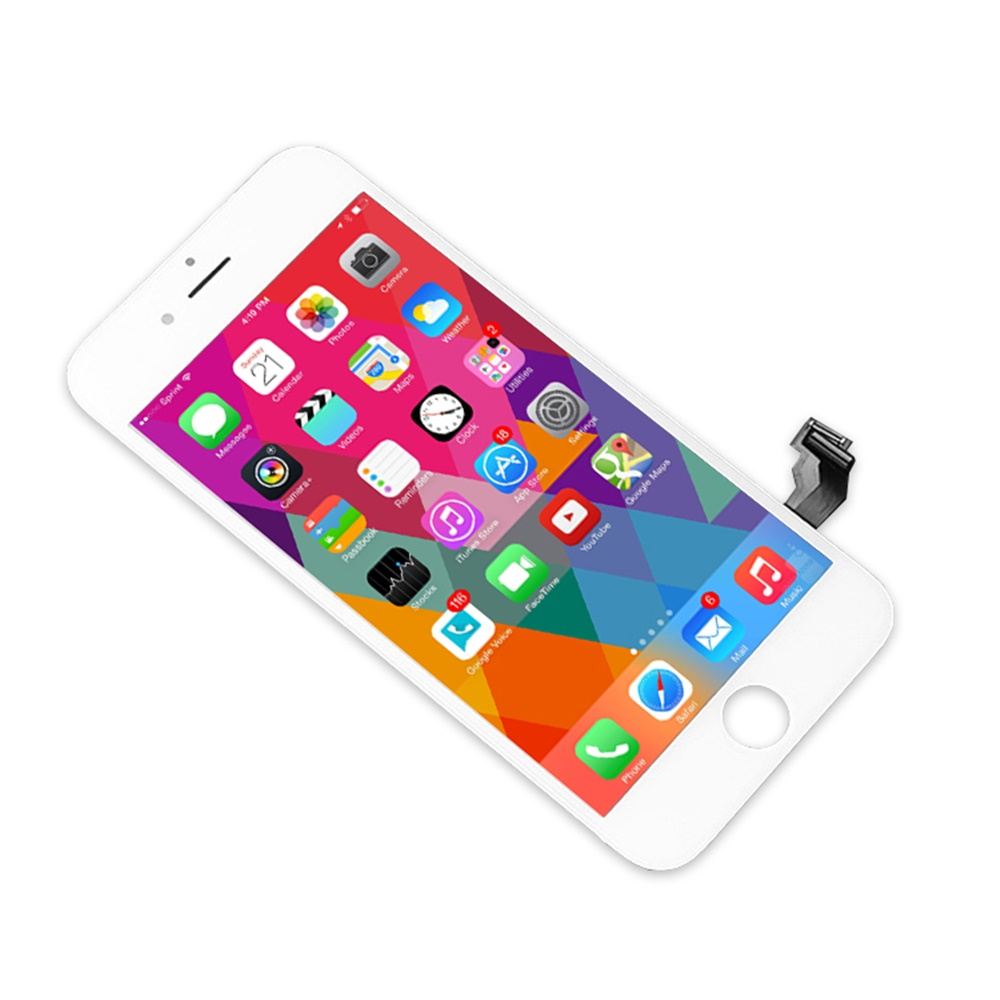 Black/White Digitizer LCD For IPhone 6 7 7 Plus 8 8 Plus Ecran Assembly Screen Replacement For IPhone 7 Display No Dead Pixel Lc