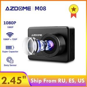 AZDOME M08 1080P Dash Cam Supe