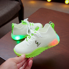 1-16 Years Old Led Shoes Luminous Sneakers Glowing Lighted Up Casual Kids