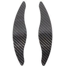Carro de fibra carbono volante shift lâmina pá shifter extensão para kia stinger paddle shift guarnição