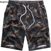 Большие размеры, камуфляжные пляжные шорты, мужские плавки, мужские пляжные шорты, летние шорты бермуды, шорты S-8XL размера плюс 4917