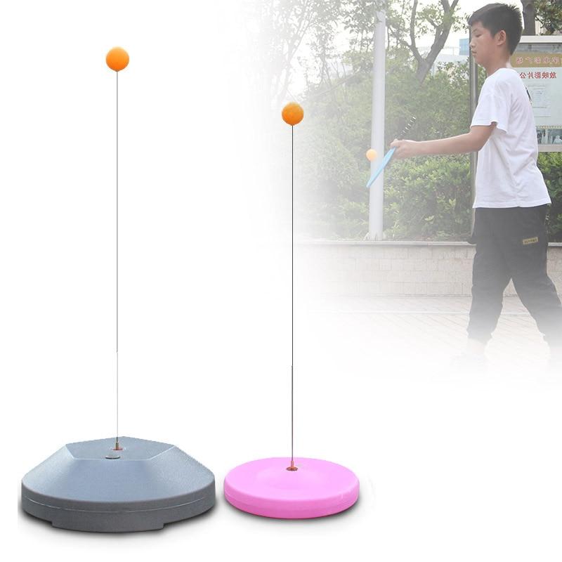 NEW Tables Tennis Rebound Trainer Paddle PingPong Training Equipment Rebound Shaft Backbound Machine