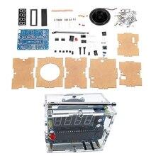 Tea5767 dc 4.5v 5.5v diy mini rádio fm digital 87mhz 108mhz 2w 8ohm alto falante eletrônica kit arduino kits compatíveis & kits diy