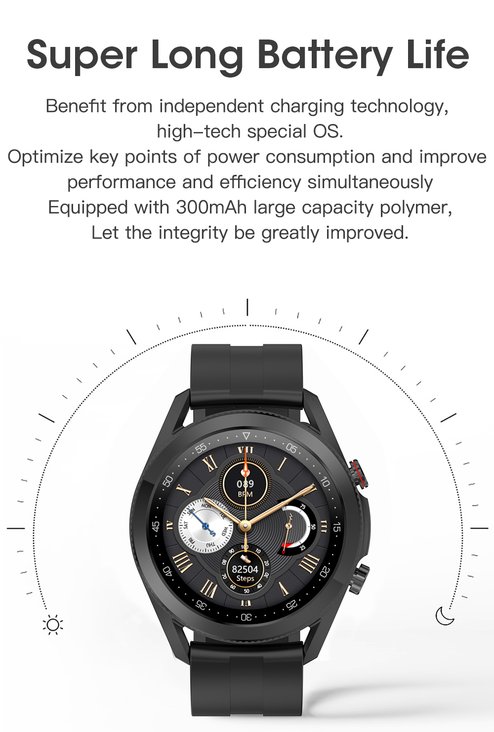 H6441b129adff4227a6fde5ccee598bb8s Timewolf Smart Watch Men 2021 IP68 Waterproof Android Full Touch Sports Smartwatch Bluetooth Call For Samsung Huawei Android IOS
