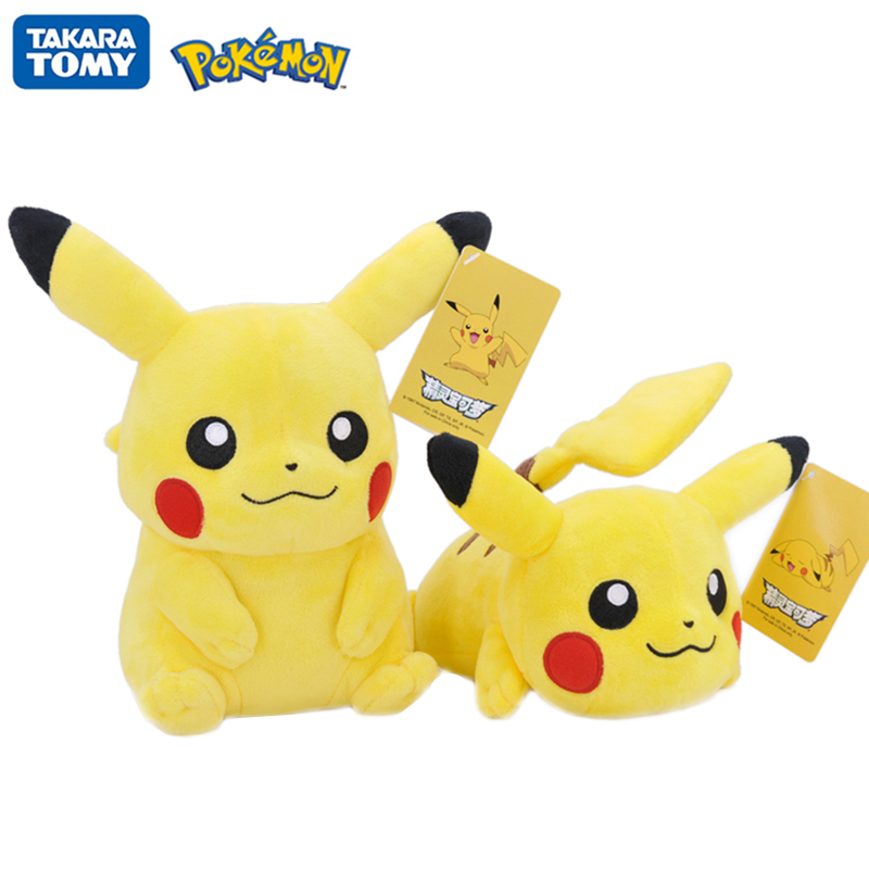 original-font-b-pokemon-b-font-kawaii-pikachu-cartoon-animal-anime-stuffed-plush-toys-dolls-for-girl-toys-children-birthday-christmas-gift