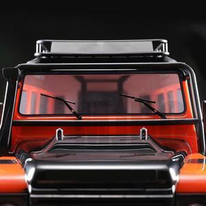 Image 4 - להפליא סימולציה מתכת מטלטלין מגב עבור 1/10 RC Crawler רכב Traxxas TRX4 ברונקו צירי 90046 90047 רנגלר TRX 4