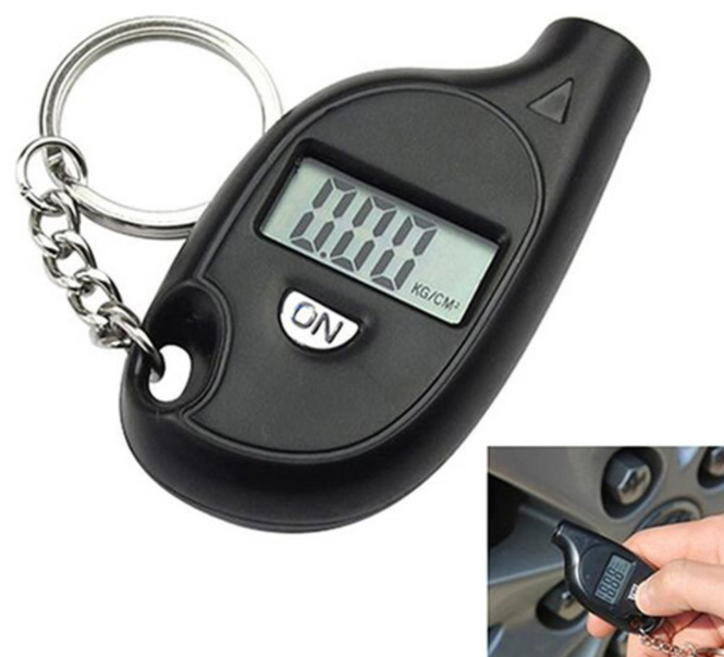 Car Tire Pressure Tester Motorcycle Auto Tyre Portable Digital Air Meter Gauge LCD Display Procession Tool 3-150 PSI Safety