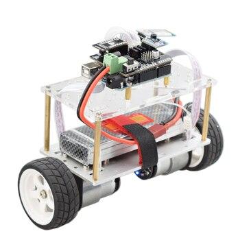 Arduino Two wheel Balancing Car Self-balancing Robot Kit with HC06 Bluetooth APP Control UNO R3 MPU6050 for DIY PID Automation two wheeled balancing car uno r3 two wheeled self balancing car kit