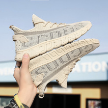 men fashion sneakers shoes casual trainers tenis shoes Breathable Mesh Sports Casual Running Shoes for men fashion flyknitting summer men sports shoes colorful letter decor running jogging shoes breathable mesh upper sneakers