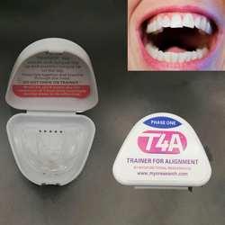 Стоматологический T4A зуб ортодонтический прибор тренажер для выравнивания зубные скобы тренажер для взрослых инструменты для отбеливания