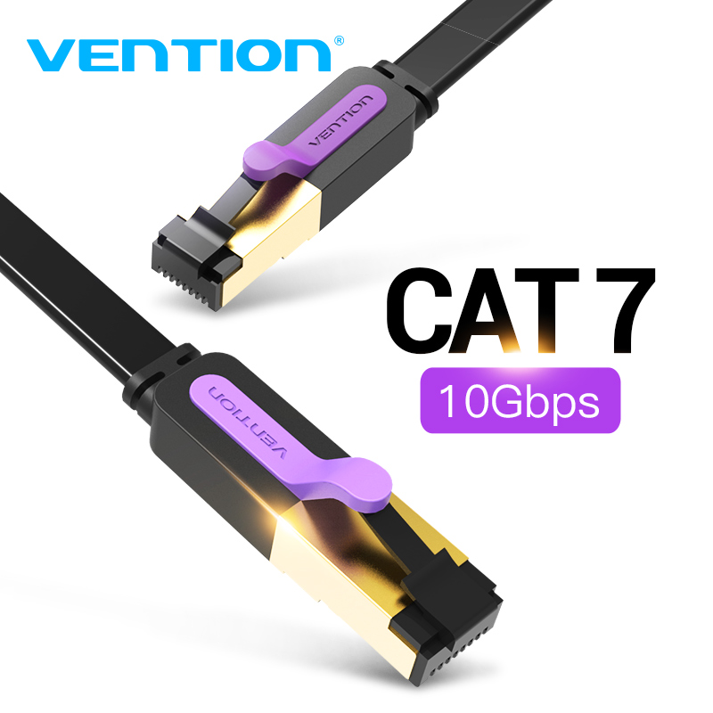 Vention Ethernet Cable Cat 7 Lan Cable STP RJ45 Network Cable For Compatible Patch Cord For Computer Router Laptop Network Cable