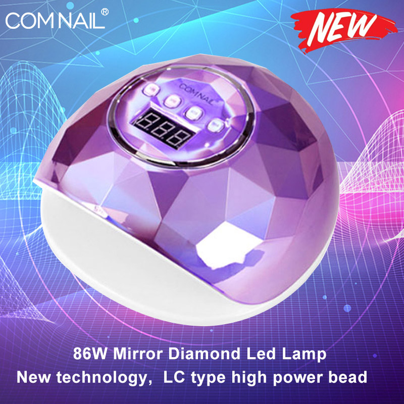 86W UV Lamp For Manicure Nail Dryer Pro UV LED Gel Nail Lamp Fast Curing Gel Polish Ice Lamp For Nail Manicure Machine