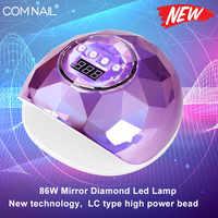 86W lampe UV pour manucure sèche-ongles Pro UV LED Gel lampe à ongles à durcissement rapide Gel vernis lampe à glace pour manucure à ongles