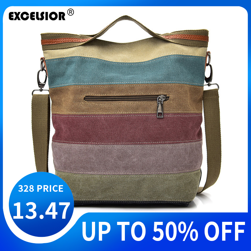 Canvas Handbag Women Shoulder Bag Crossbody New Bags For Women 2020 Bolsa Feminina Sac A Main Femme Bolso Mujer Torebki Damskie