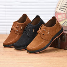 2020 New Men Suede Leather Loafers Driving Shoes Moccasins F
