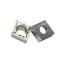 100PCS CCMT09T304 FG CT3000 Carbide Alloy Cutter Boring CNC Lathe Cermet Inserts Turning Tools Machining Steel