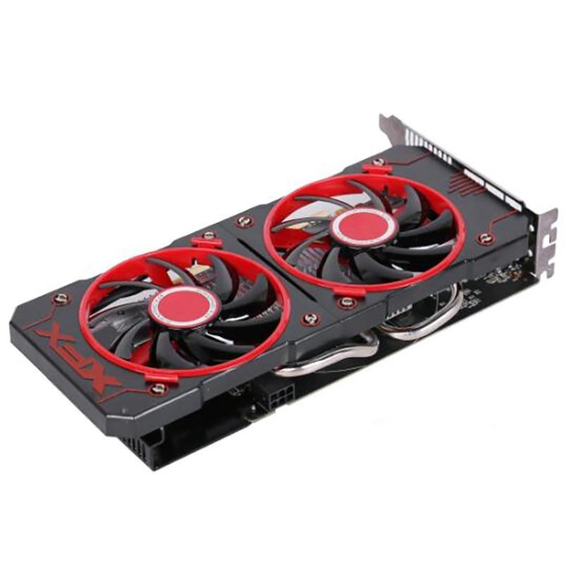 Оригинальная игровая графическая карта XFX RX560, не Майнинг, 4 Гб, 128 бит, для AMD Radeon RX560D, 4 Гб, GPU-2