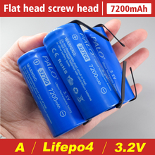 PALO 32700 3.2v lifepo4 7200mAh rechargeable battery cell LiFePO4 5C discharge battery for Backup Power flashlight