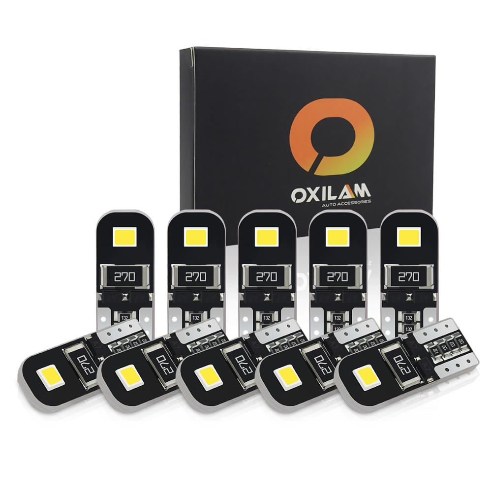 10x T10 <font><b>Led</b></font> Canbus W5W <font><b>Led</b></font> Interior Lights for <font><b>BMW</b></font> f10 f20 f11 e87 e46 <font><b>e36</b></font> e60 e90 e39 x5 e53 e70 Error Free Auto <font><b>Led</b></font> Lamps 12V image