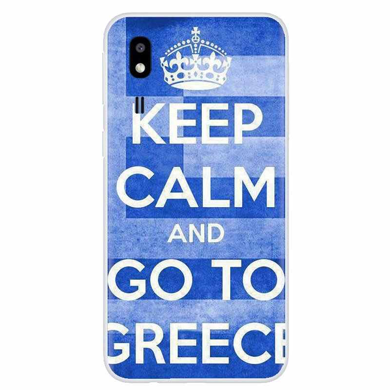 GR اليونانية اليونان العلم راية نمط لسامسونج غالاكسي نوت 2 3 4 5 8 9 S2 S3 S4 S5 مصغرة S6 S7 حافة S8 s9 plus لينة الإسكان