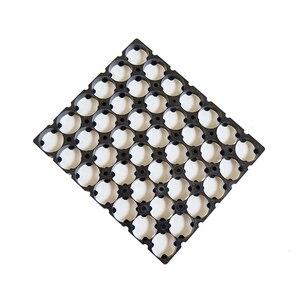 Image 4 - 18650 support 6 rangées série 18650 support de batterie (intégré) pour 18650 batterie au lithium pack matériaux ignifuges