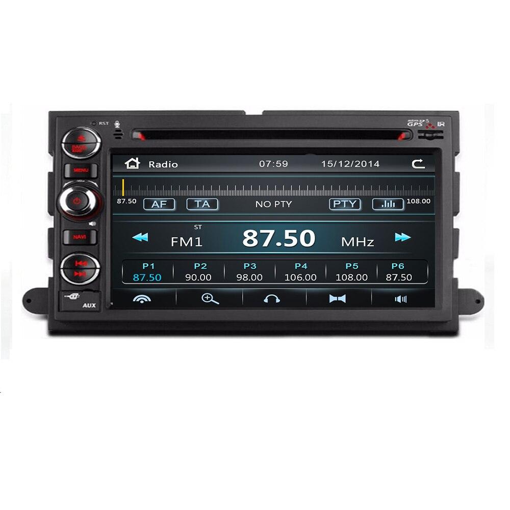 2 Din автомобильный DVD плеер GPS навигация для Ford F150 F250 F350 F450 Mustang Fusion Explorer Edge Escape Mercury 2005 2007 экран 3G