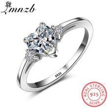 Женские обручальные кольца lmnzb из 100% настоящего серебра
