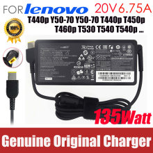 Original 20V 6.75A 135W For Lenovo Thinkpad T440p Y50-70 Y50-70 T440p T450p T460p T530 T540 T540p Laptop AC adapter Charger