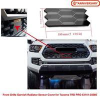Przedni grill Grille garnitur pokrywa czujnika chłodnicy dla Toyota Tacoma TRD PRO 53141 35060 samochód Auto akcesoria w Kratki wyścigowe od Samochody i motocykle na