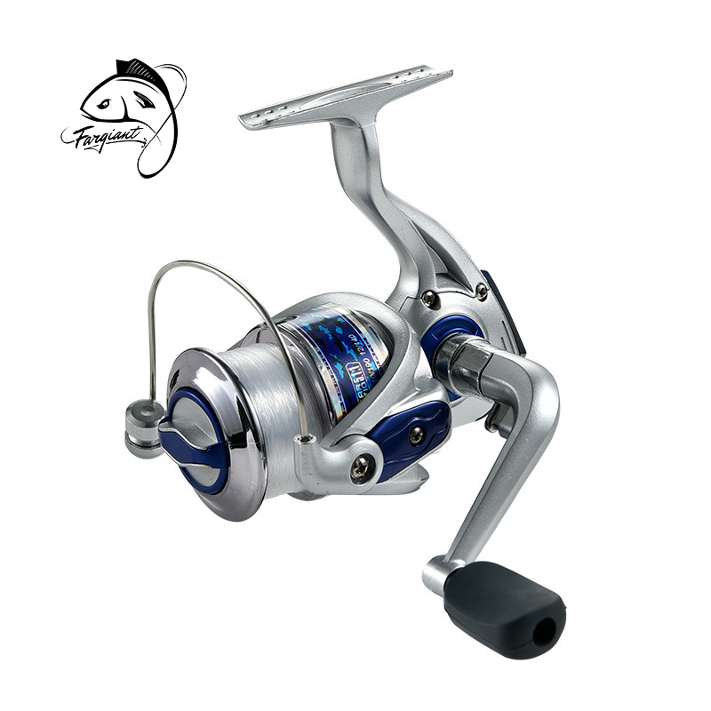 Fargiant Fishing Reel Ocean Boat Fishing 1000H-7000H Spinning Reel 5.5:1 Carbon Fiber Drag Power Carp Fishing Tackles For Water