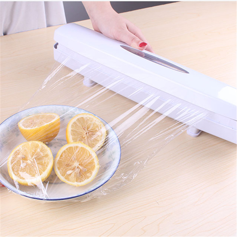 Creative Preservative Film Cutter Quality Plastic Wrap Dispenser Seal Aluminum Foil Wax Paper Multifunction Kitchen Cutting Tool
