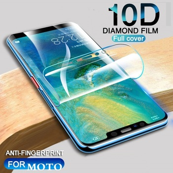 For Motorola P30 Note Play Hydrogel Film Protective For Motorola One Power XT1941-4 Screen Protector Phone cover Film image