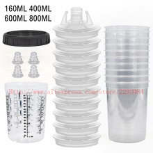 Spray-Gun Paint-Cup Tank-Pps Pps-Type Disposable 10pcs H/O 600/800ml