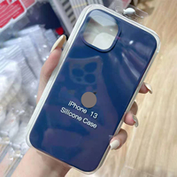 Líquido de silicona caso para iPhone 13 12 11 Pro Max Mini la cubierta del teléfono para Apple iPhone 6 6s 7 7 Plus X XR XS Max SE 2020