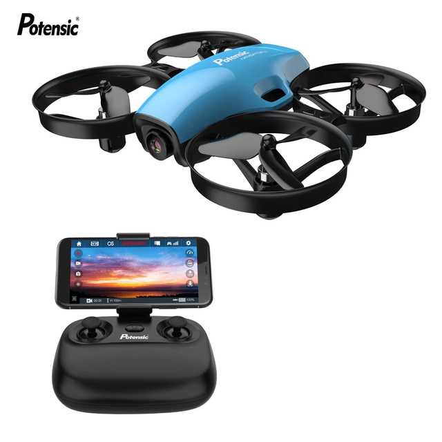 Potensic A30W Mini Drone RC Quadcopter Racing Headless Mode With Hold Altitude helicopter drone Remote Control Aircraft Toy