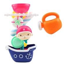 Детские Игрушки для ванны игрушки ванной комнаты поворачивающаяся