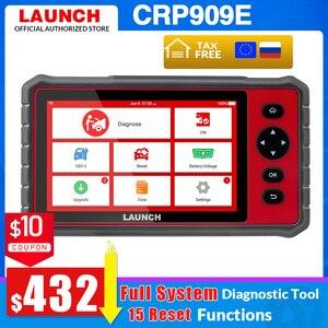 Image 1 - Lancio X431 CRP909E obd2 scanner strumento diagnostico sistema completo + Airbag SAS TPMS EPB IMMO 15 funzioni di ripristino lettore di codice CRP909X