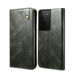 Image 4 - Leather Texture Magnet Book Cover for Samsung S21 FE 5G Case 360 Protect for Samsung Galaxy S21 Ultra Case S 21 Plus S21FE Coque