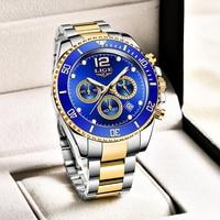 2021 Luik Top Brand Luxe Fashion Diver Mannen Horloge Waterdicht Datum Klokken Sport Horloges Heren Quartz Horloge Relogio Masculino